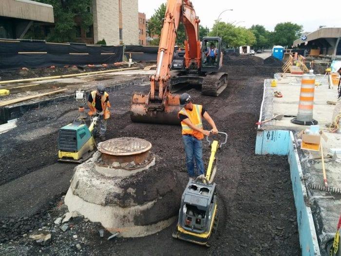 applatissement des fondations