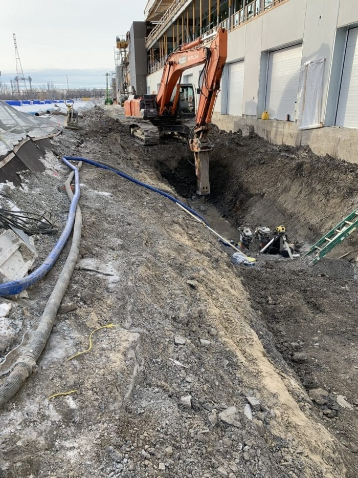 entrepreneur excavation sur le grand Montréal
