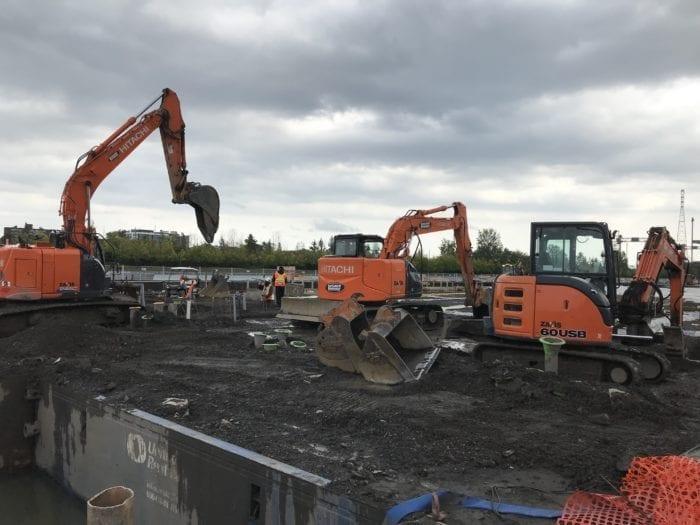 pieux de fondation pour excavation